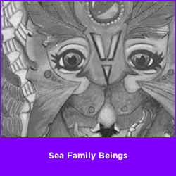 Sea Family Beings